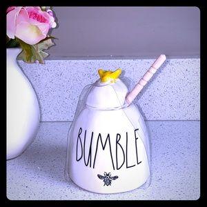 🍯 RAE DUNN BUMBLE YELLOW BUMBLEBEE HONEY POT